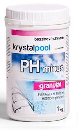 Fotografie Krystalpool PH Minus 1,5 kg