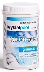 Krystalpool Chlor šok 1 kg