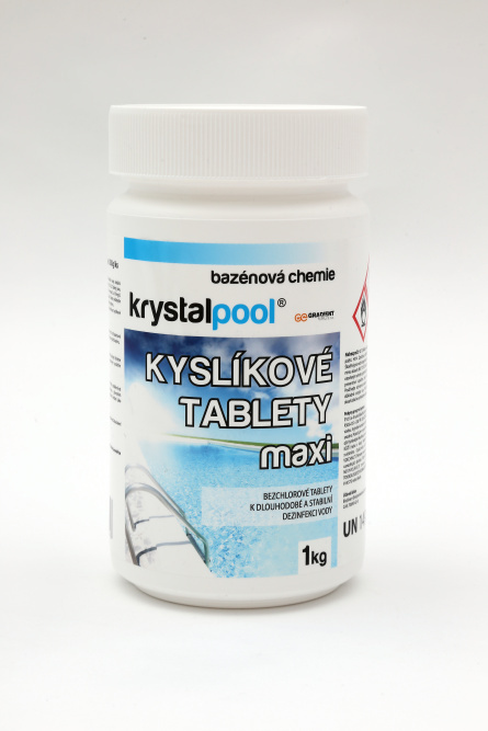 Krystalpool Kyslíkové tablety maxi 1 kg
